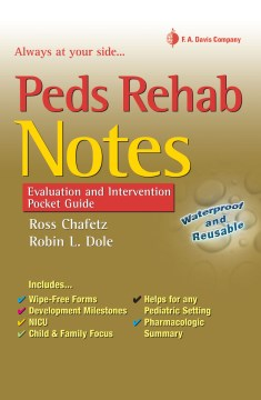 Product Peds Rehab Notes: Evaluation and Intervention Pocket Guide