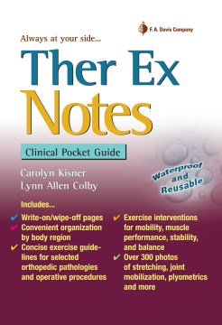 Product Ther Ex Notes: Clinical Pocket Guide
