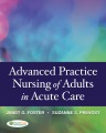 Product Advanced Practice in Nursing of Adults in Acute Ca