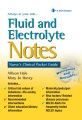 Product Fluid and Electrolyte Notes