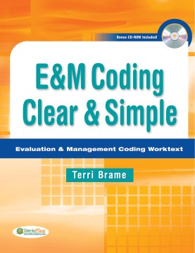 Product E&M Coding Clear & Simple: Evaluation & Management Coding Worktext