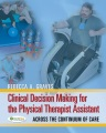 Product Clinical Decision Making for the Physical Therapy