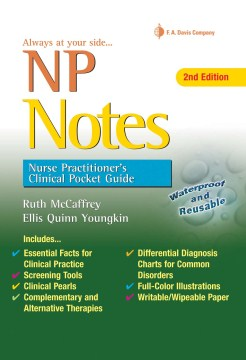 Product NP Notes: Nurse Practitioner's Clinical Pocket Guide