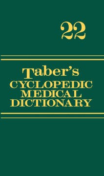 Product Taber's Cyclopedic Medical Dictionary