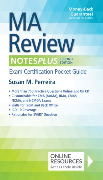 Product MA Review Notesplus: Exam Certification Pocket Guide