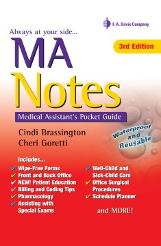 Product Ma Notes: Medical Assistant's Pocket Guide