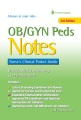 Product OB/GYN Peds Notes