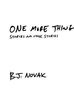 Product One More Thing: Stories and Other Stories