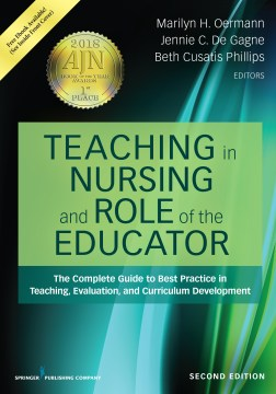 Product Teaching in Nursing and Role of the Educator: The Complete Guide to Best Practice in Teaching, Evaluation, and Curriculum Development
