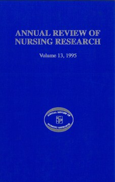 Product Annual Review of Nursing Research 1995