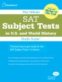 Product The Official SAT Subject Tests in U.S. History and World History