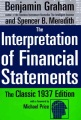 Product The Interpretation of Financial Statements: The Classic 1937 Edition