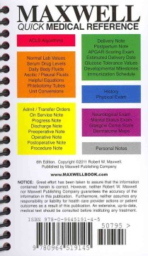 Product Maxwell Quick Medical Reference