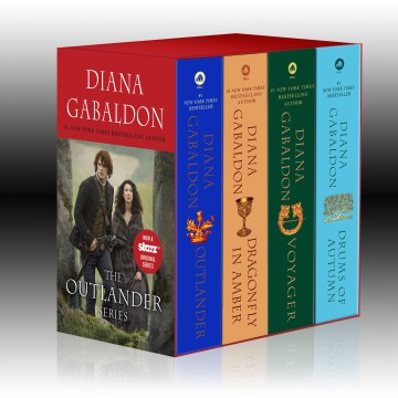 Product OutLander: Outlander / Dragonfly in Amber / Voyager / Drums of Autumn