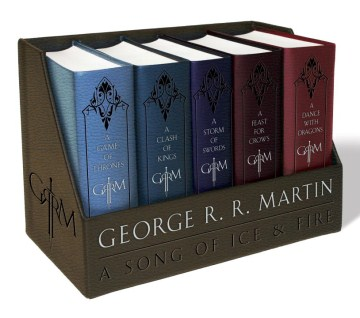 Product A Game of Thrones: A Game of Thrones / A Clash of Kings / A Storm of Swords / A Feast for Crows / A Dance With Dragons