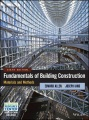 Product Fundamentals of Building Construction: Materials and Methods