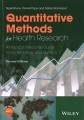 Product Quantitative Methods for Health Research