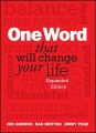 Product One Word That Will Change Your Life
