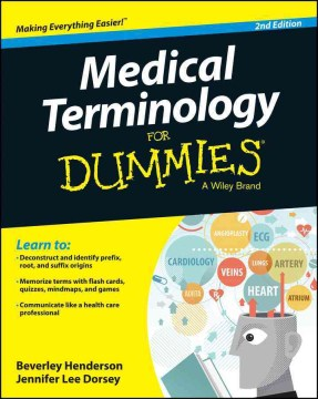 Product Medical Terminology for Dummies