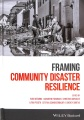 Product Framing Community Disaster Resilience