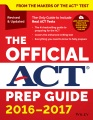 Product The Official ACT Prep Guide 2016-2017