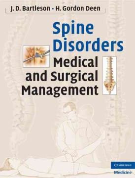 Product Spine Disorders: Medical and Surgical Management