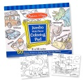 Product Jumbo Multi-theme Coloring Pad - Blue Coloring Book