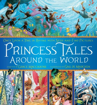 Product Princess Tales Around the World: Once upon a Time in Rhyme With Seek-and-Find Pictures
