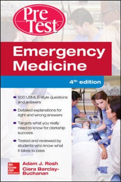 Product Emergency Medicine Pretest Self-Assessment and Review