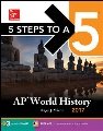 Product 5 Steps to a 5 AP World History 2017
