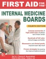 Product First Aid for the Internal Medicine Boards