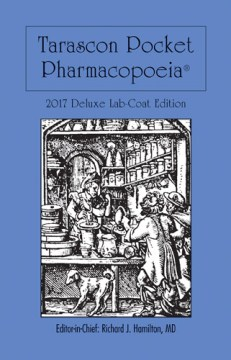 Product Tarascon Pocket Pharmacopoeia 2017: Deluxe Lab-coat Edition