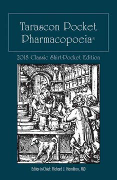 Product Tarascon Pocket Pharmacopoeia 2018: Classic Shirt-Pocket Edition
