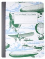 Product Airships Decomposition Book: College-Ruled Composition Notebook With 100% Post-Consumer-Waste Recycled Pages