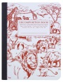Product African Safari Decomposition Book: College-Ruled Composition Notebook with 100% Post-Consumer-Waste Recycled Pages