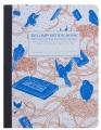 Product Bird Song Decomposition Book: College-ruled Composition Notebook With 100% Post-consumer-waste Recycled Pages