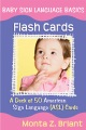 Product Baby Sign Language Flash Cards