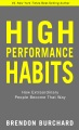 Product High Performance Habits