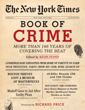 Product The New York Times Book of Crime: More Than 166 Years of Covering the Beat