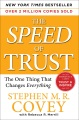 Product The Speed of Trust: The One Thing That Changes Everything