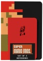 Product Super Mario Brothers Notebooks: 1 Lined / 1 Blank / 1 Graph Paper