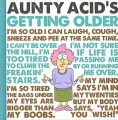 Product Aunty Acid's Getting Older