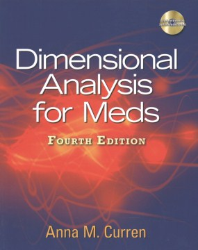 Product Dimensional Analysis for Meds