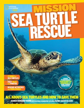 Product Sea Turtle Rescue: All About Sea Turtles and How to Save Them