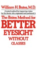 Product The Bates Method for Better Eyesight