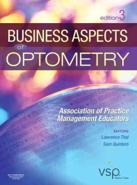 Product Business Aspects of Optometry: Association of Practice Management Educators