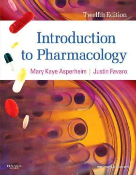 Product Introduction to Pharmacology