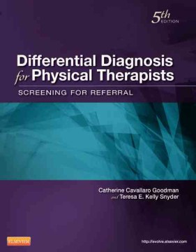 Product Differential Diagnosis for Physical Therapists: Screening for Referral