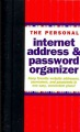 Product The Personal Internet Address & Password Logbook