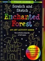 Product Scratch and Sketch Enchanted Forest